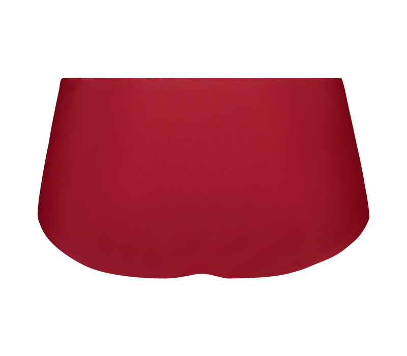 Beeren dames INVISIBLE hipster Rood