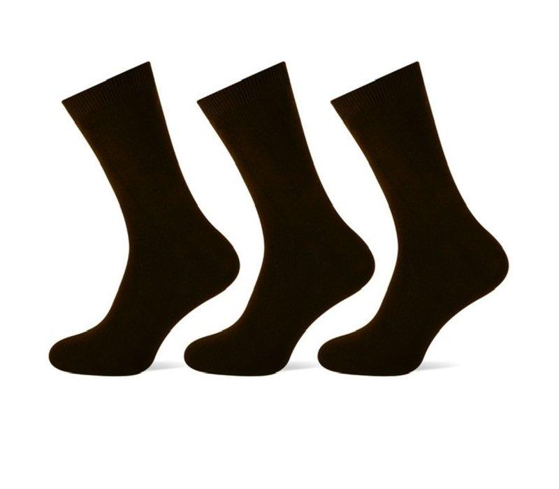 Teckel Dames sokken Zwart bundel van 3