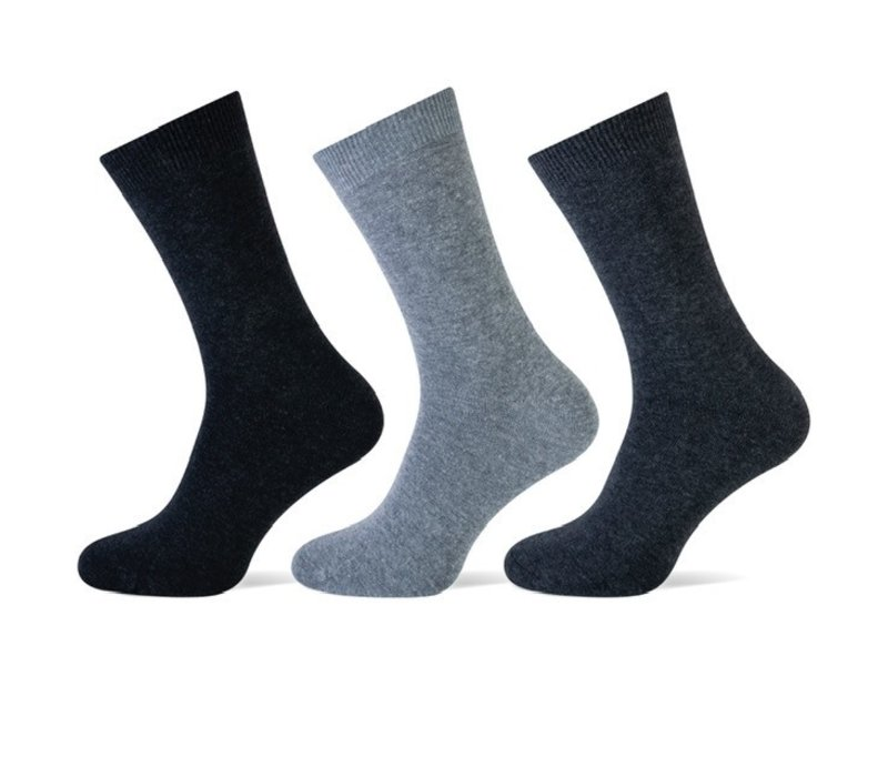 Teckel Dames sokken Antraciet bundel van 3