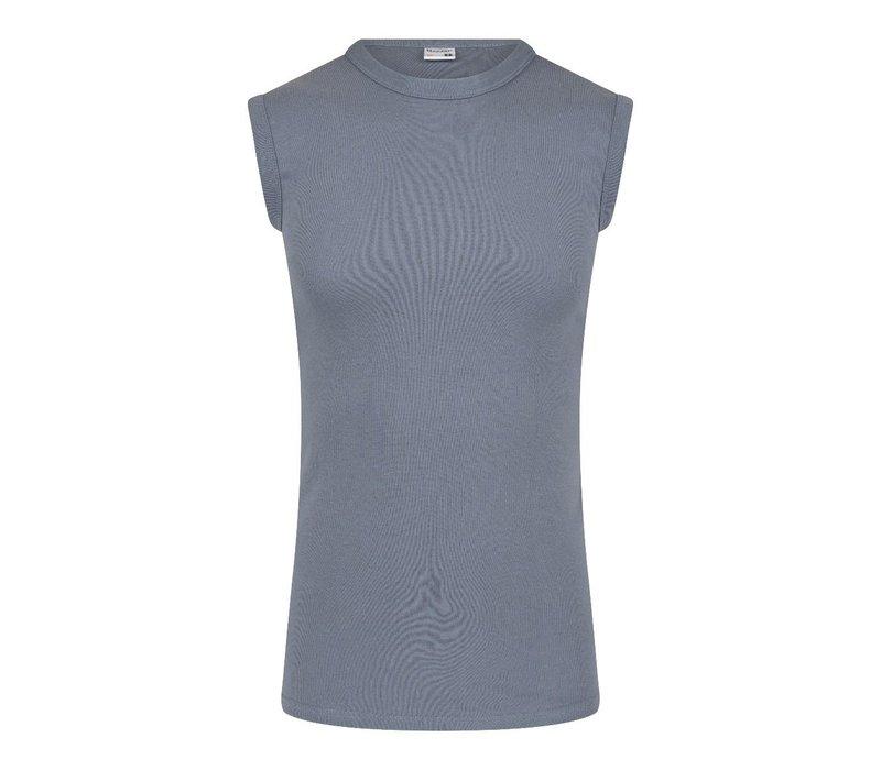 Heren mouwloos shirt  M3000 Grijs