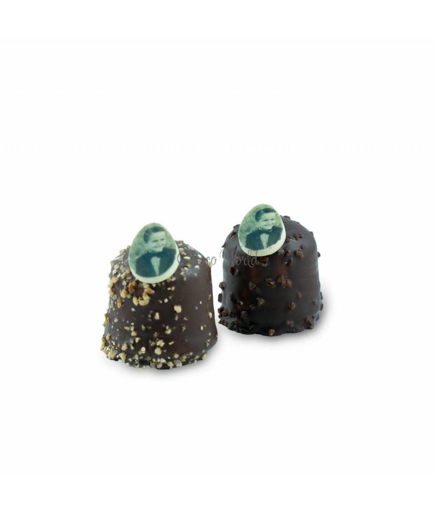 Chocozoenen met Foto Ovaal
