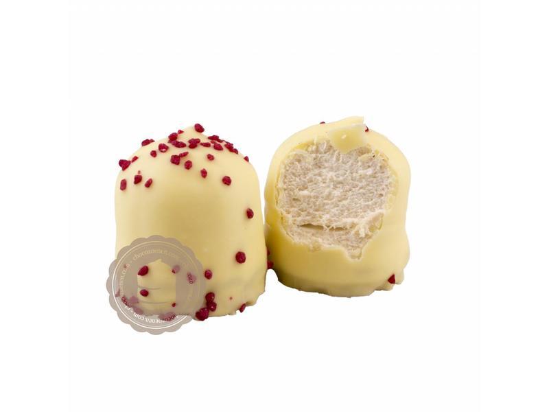 Chocozoen Wit  Aardbeien