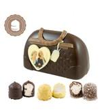 Chocolade Handtas met Foto en  6 Zoenen