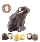 Chocolade Kikker met  6 Chocozoenen