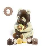 Chocolade Panda Beer met Foto en  6 Zoenen