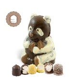 Chocolade Panda Beer met  6 Chocozoenen
