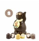 Chocolade Pinguin met Foto en  6 Zoenen