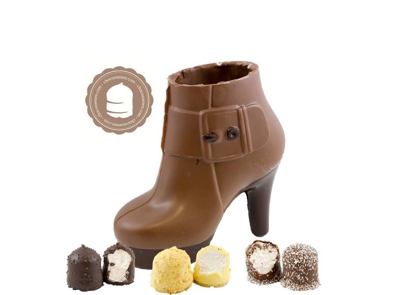 Chocolade Pump met  6 Chocozoenen