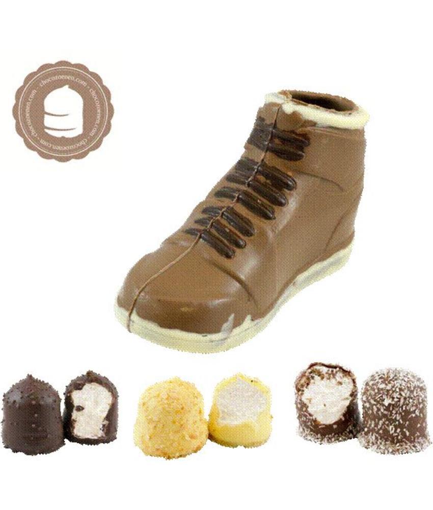 Chocolade Sneaker met  6 Chocozoenen
