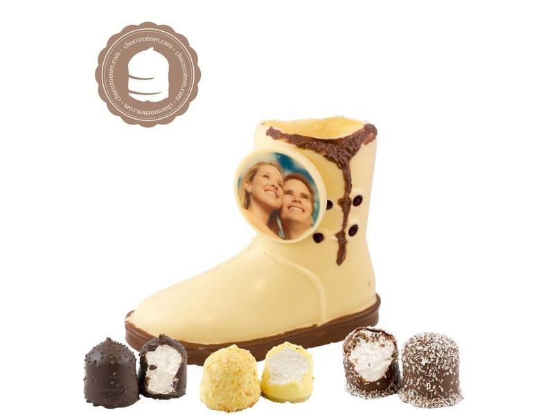 Chocolade Ugg met Foto en  6 Zoenen