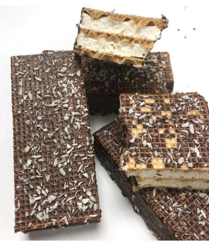 Choco Wafels met Kokos
