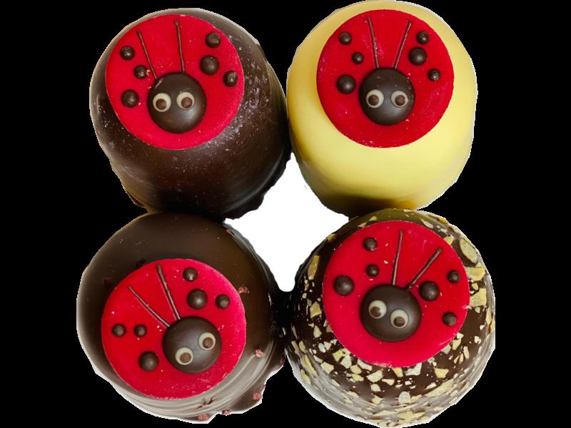 Chocozoenen Lieveheersbeestjes