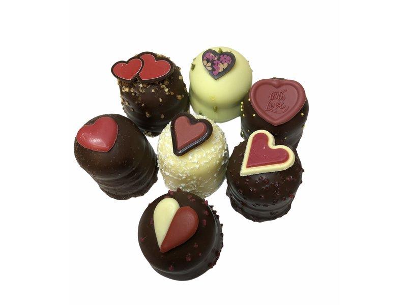 Valentijnszoenen