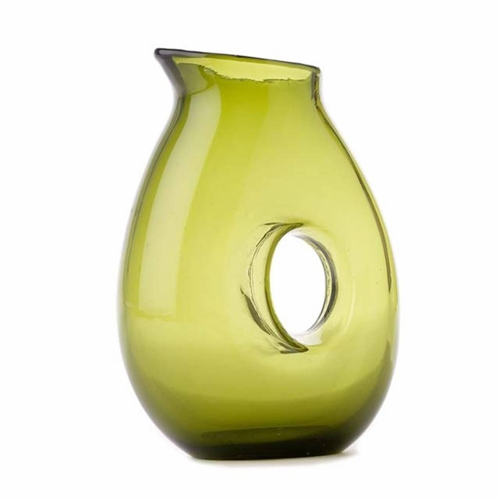 Glass carafe various colors