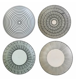 Pols Potten Plates Pastel Afresh Large Set of 4