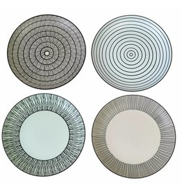 Pols Potten Plates Pastel Afresh Set of 4
