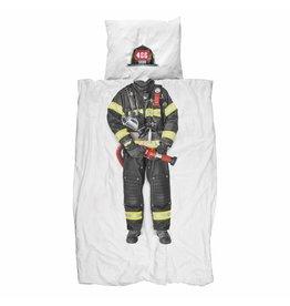 Snurk beddengoed Duvet Cover Firefighter Single