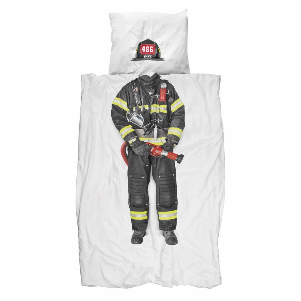 Dekbedovertrek Brandweerman 1 persoons