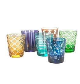 Pols Potten Drinking glasses Tumbler Set of 6