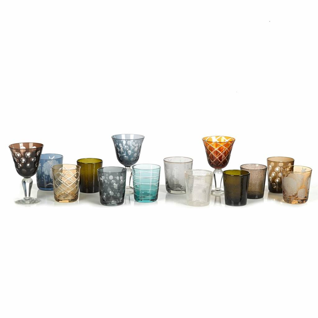 Drinking glasses Tumbler Set of 6
