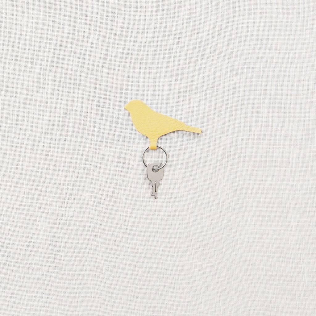 Schlüsselanhänger Mini Tweet Gelb