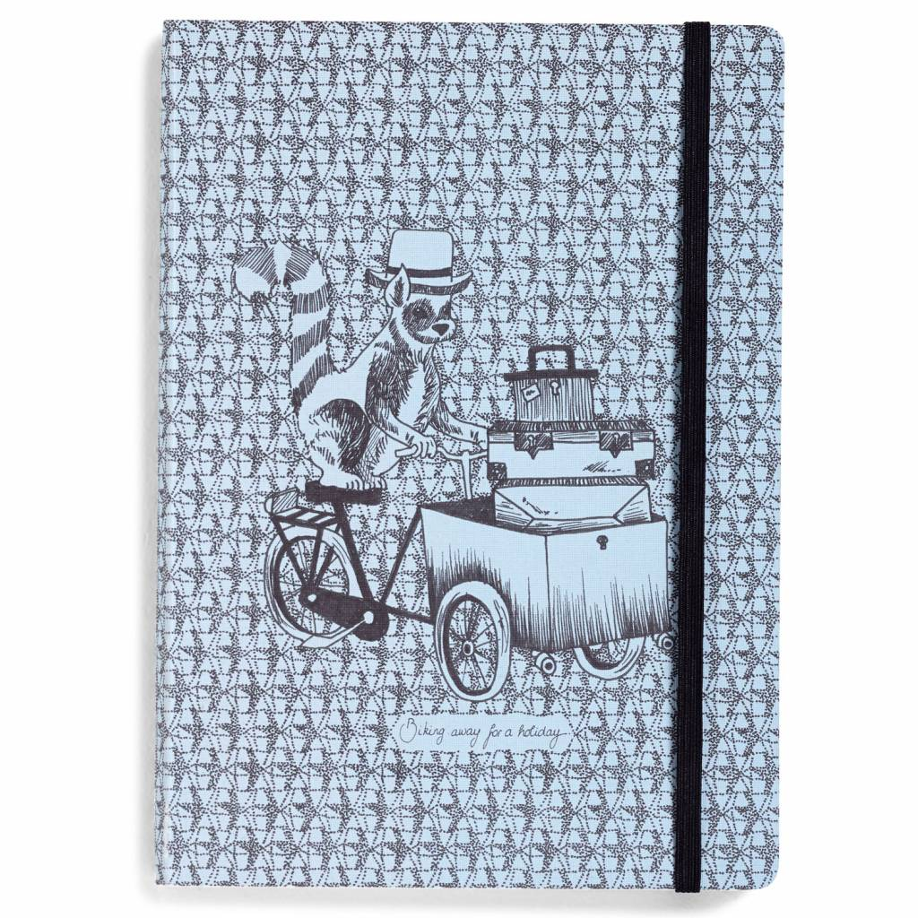 Notebook moving animals Lemur