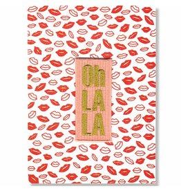 WowGoods Patch Postkarte - Oh La La