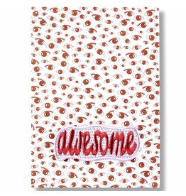 WowGoods Patch Postkarte - Super