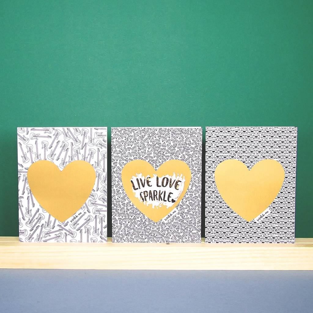 Greeting Card Scratch Off - Bonjour Mon Amour
