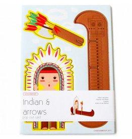 Studio ROOF Popout kaart A5 indiaan