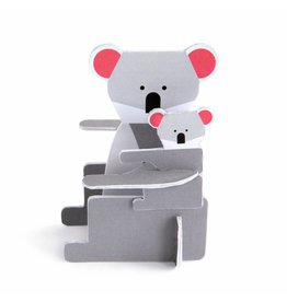 Studio ROOF Pop Out Card Koala
