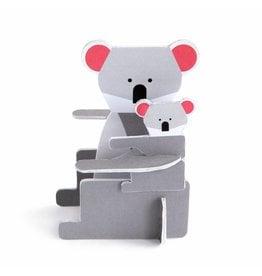 Studio ROOF Pop Out Card Koala