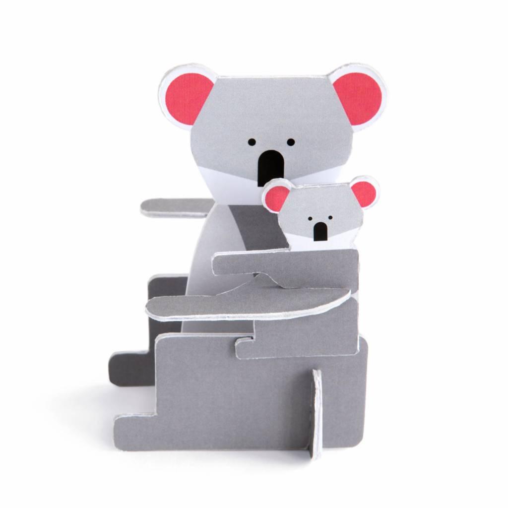 Pop Out Card Koala