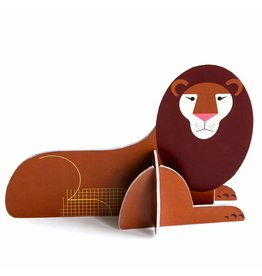 Studio ROOF Pop Out Card Lion