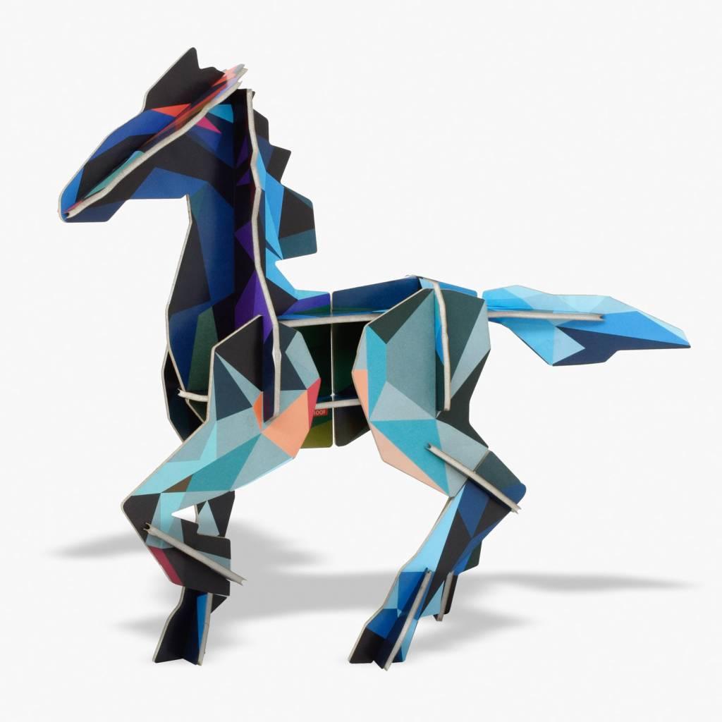 Totem fries paard