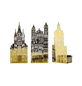 Pols Potten Waxinelicht Churches Set/3