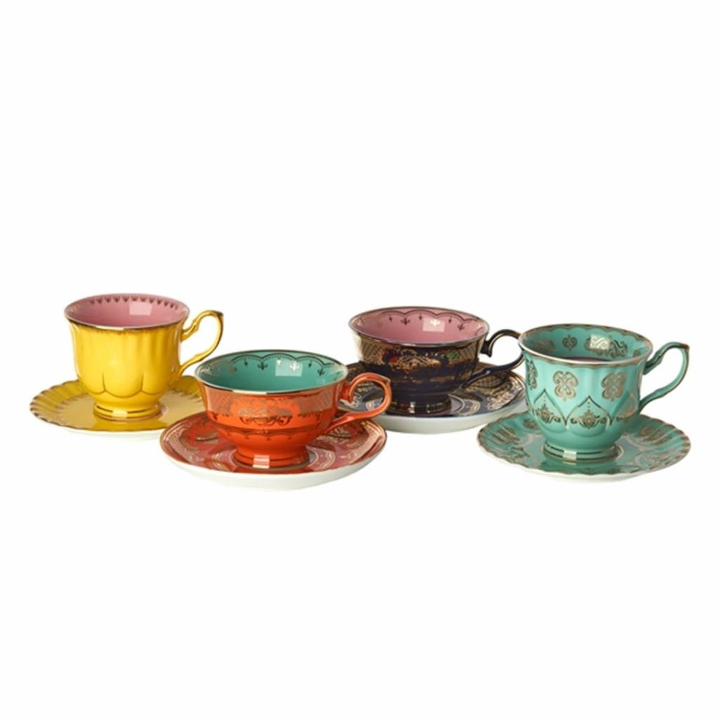 Tea service Grandpa Set of 4