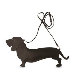 Keecie Dachshund Bag Brown