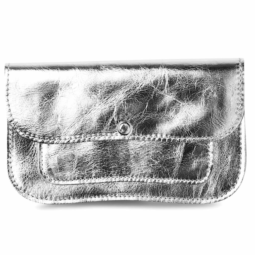 Wallet Cat Chase Silver