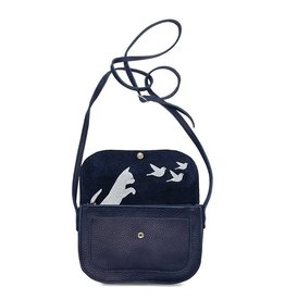 Keecie Bag Cat Chase Inkblue
