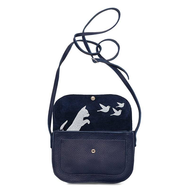 Tasche Cat Chase Inkblue