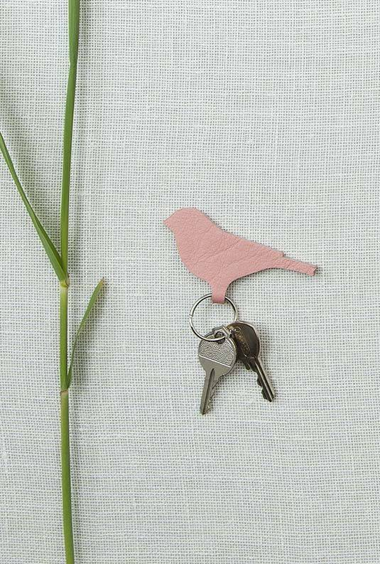 Keychain Mini Tweet Soft Pink