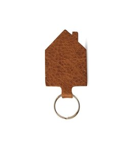 Keecie Sleutelhanger Good House Keeper Cognac