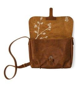 Keecie Bag Flora & Fauna Cognac