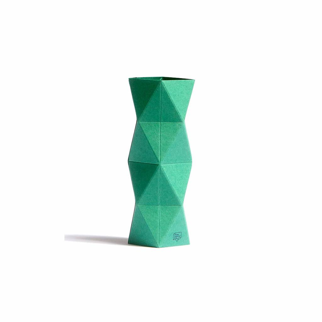 Card-Vase XoXo Green
