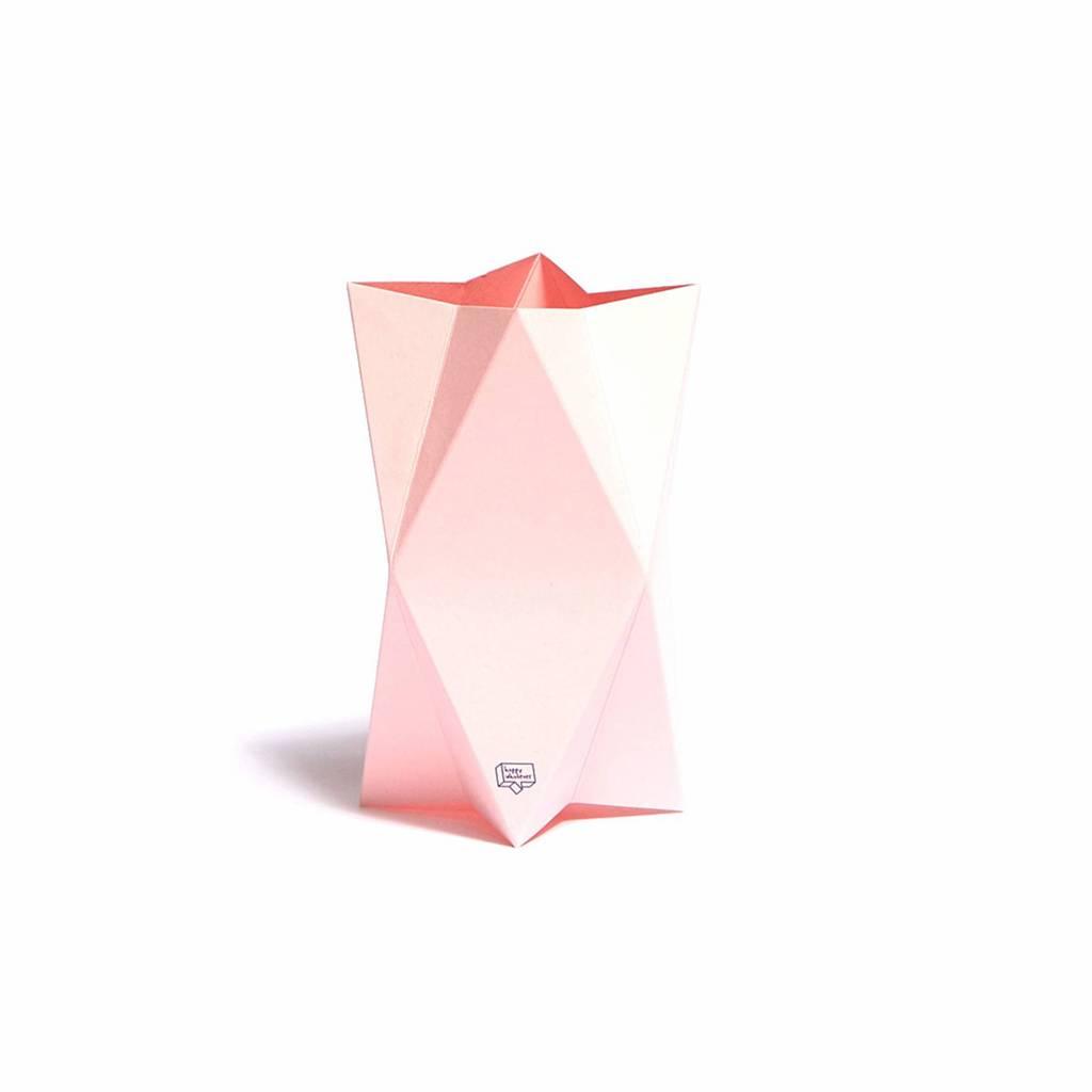 Grußkarte-Vase Impress Rosa
