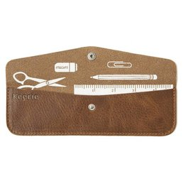 Keecie Pen Pal Case Cognac
