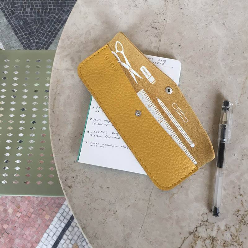 Pen Pal Case Yellow