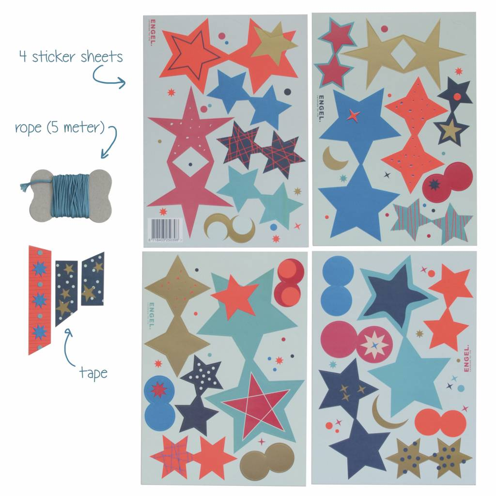 DIY slinger Stars Blue