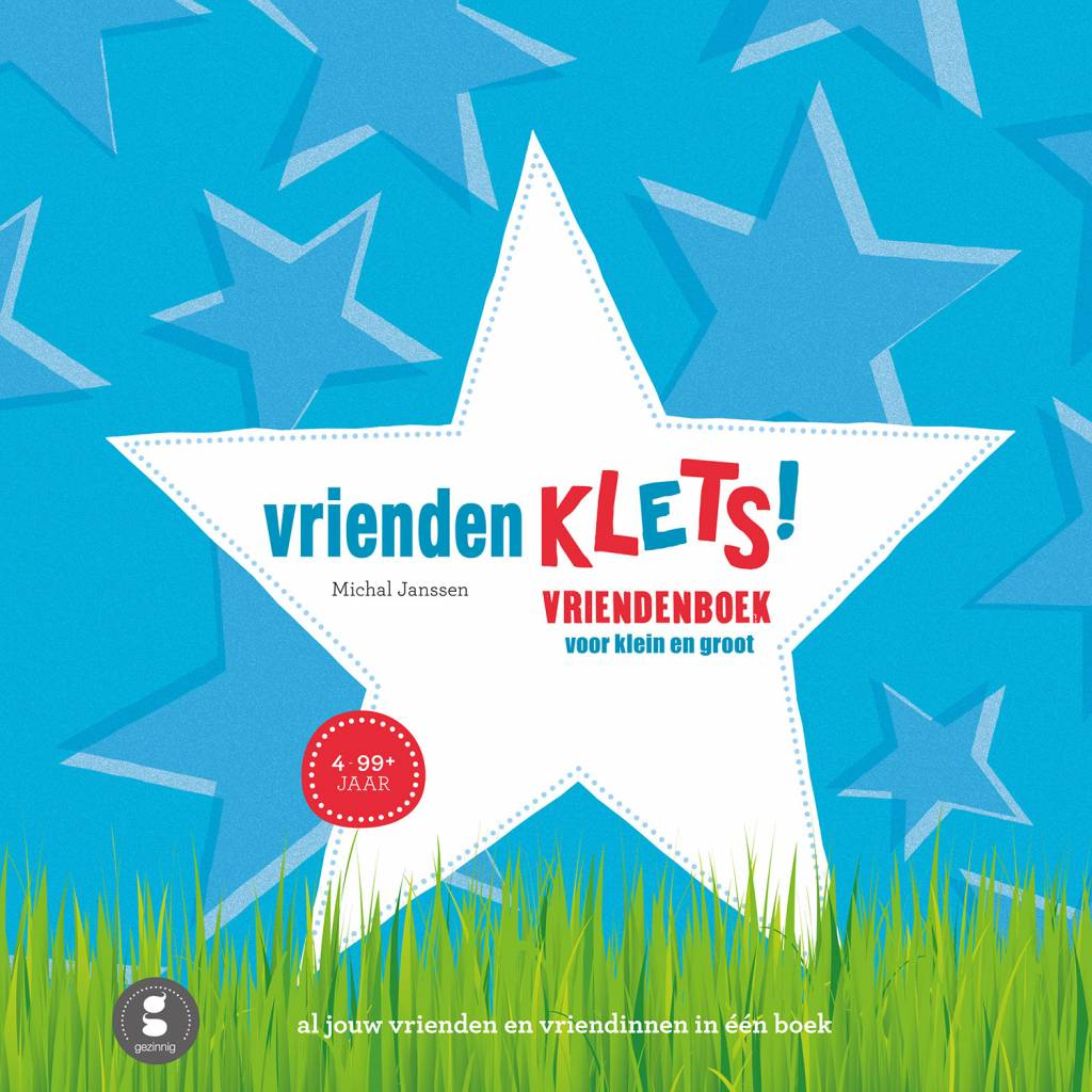 Vriendenklets Blue Dutch